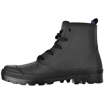 レインブーツ - petitcaprice レインシューズ レディース スニーカー 靴 長靴 雨靴 ヒール ハイカット レインスニーカー (kh-16042) 防水 雨梅雨雨晴れ兼用 梅雨 雨 雪 シンプル おしゃれ 365日使えるレインシューズ