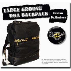 【期間限定SALE】Dr. Martens LARGE GROOVE DNA BACKPACK/【ドクターマーチン ラージ バックパック】/AB087001