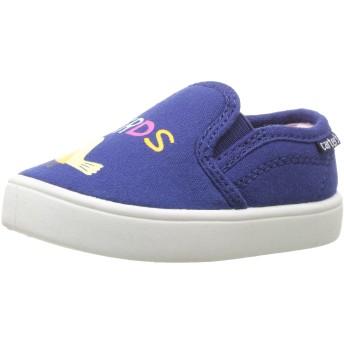 [Carter's] ユニセックス・キッズ Tween Girl's Casual Slip-On カラー: ブルー