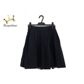 ブルーレーベルクレストブリッジ BLUE LABEL CRESTBRIDGE スカート サイズ38 M レディース 黒   スペシャル特価 20191011