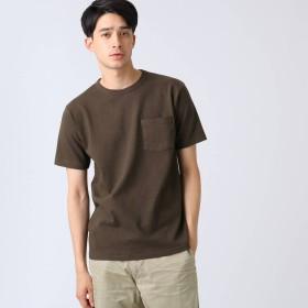 ドレステリア DRESSTERIOR ポケットTシャツ ヘビーウェイト天竺 (ダークブラウン)