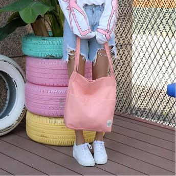 トートバッグ - pinkvery 【カジュアルトートバッグ】 A4 カジュアル デイリー シンプル 通勤 通学 旅行 サブバッグ ショルダーバッグ 韓国ファッション韓国