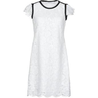《セール開催中》PHILOSOPHY di LORENZO SERAFINI レディース ミニワンピース&ドレス ホワイト 40 レーヨン 100%