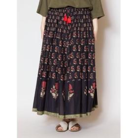 [マルイ] 【チャイハネ】インド・バグル柄コットンロングスカート/チャイハネ(CAYHANE)