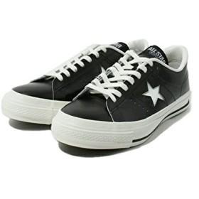 [コンバース] ワンスター ONE STAR J OX ブラック/ホワイト US8(26.5cm)