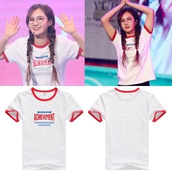 少女時代 INTO YURIクォン・ユリ コンサート韓国ファッション 男女兼用 半袖Tシャツ トップス 韓国 K-POP 応援服