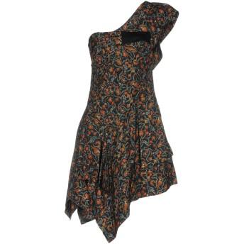 《期間限定 セール開催中》ISABEL MARANT レディース ミニワンピース&ドレス ブラック 34 シルク 100% / コットン