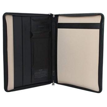 サイドクロージングマラレザージップコレクションTORO 5100_68ブラック付きブリーフケース