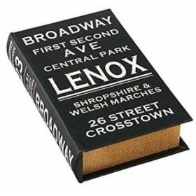 本型の小物入れ - ブックストレージボックス Broadway ブロードウェイ INC.[GD-9955]