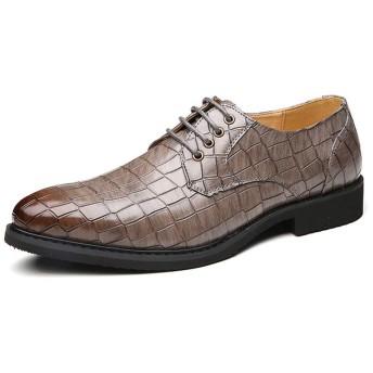 [PIRN] ビジネスシューズ ブラック 紳士靴 外羽根 耐久 快適 歩きやすい カジュアル 軽量 滑り止め 磨耗に耐える 通気性 グレー 吸汗性 足とぴったり 足痛くない 25.5cm 営業マン 通勤 無地 フォーマル 新生活 オシャレ かっこいい 革靴