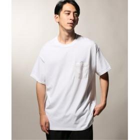 JOURNAL STANDARD relume SHIROKUMA×relume 別注 POCKET Tシャツ パープル XL