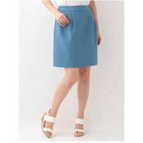 OFUON タッキングタイトスカート その他 スカート,ブルー