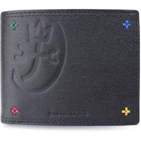 (カステルバジャック) CASTELBAJAC 二つ折り財布/2つ折財布 アバ 095604 (クロ(01))