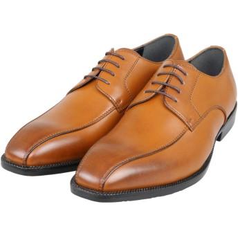[アルテラボロ] Arte,Lavoro ビジネスシューズ メンズ 3E ブラウン スワールモカ 外羽根 紐靴 25cm AR22BR250