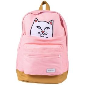 RIPNDIP リップンディップ LORD NERMAL BACKPACK バックパック 猫 ネコ 各カラー (PINK) [並行輸入品]
