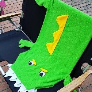 美麗大街【S106112208】卡哇伊~短尾鱷睡袋Short-tailed crocodile 保暖毯