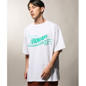 JOURNAL STANDARD relume PENNYS× relume 別注 PRINTED HAWAII Tシャツ ホワイト M