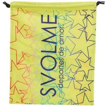 スボルメ(SVOLME) スターシューズ袋 ライム 1193-37429 053 シューズバッグ シューズ入れ シューズケース 部活