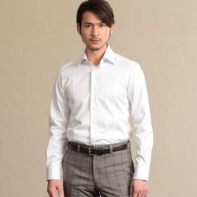 【エポカ ウォモ(EPOCA UOMO)】 【ALBINI】セミワイドカラーシャツ 【ALBINI】セミワイドカラーシャツ ホワイト