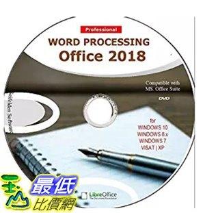 [7美國直購] 2018 amazon 亞馬遜暢銷軟體 Word Processing Office Suite 2018 Perfect Home Student and Business for