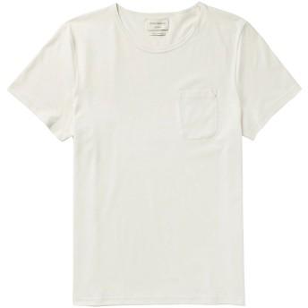 《9/20まで! 限定セール開催中》OLIVER SPENCER メンズ T シャツ ベージュ M コットン 100%