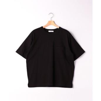 グリーンレーベルリラクシング SC ☆キシリトールCOOL クルー SS Tシャツ <機能性生地> メンズ BLACK L 【green label relaxing】