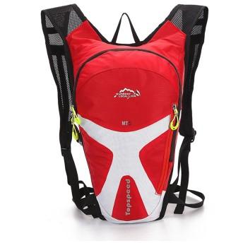 登山 リュック 5L アウトドア リュック サイクリングバッグ 防撥水 リュックサック 多機能 軽量トレッキング 自転車 旅行 ハイキング デイパック バックパック 通気性 ユニセックス高通気性