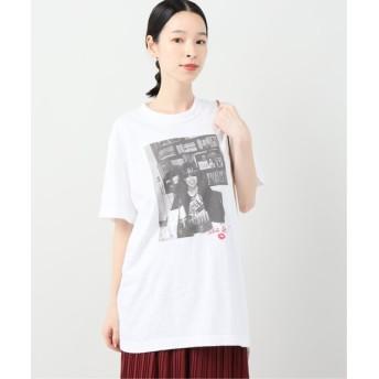 B.C STOCK 【Roberta Bayley / ロベルタ・ベイリー】 photo Tシャツ ホワイト A フリー