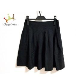 セオリー theory スカート サイズX0 XL レディース 美品 黒 新着 20190722