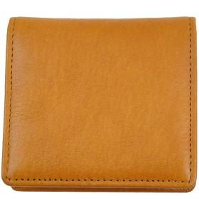 Dom Teporna Italy 極小 コインケース ボックス型 小銭入れ 本革 牛革 イタリアンレザー BOX型 小さい 薄い 軽い 財布 メンズ レディース おしゃれ ブラウン