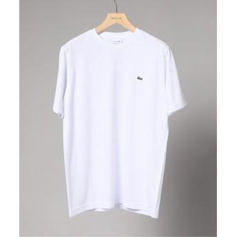 EDIFICE LACOSTE / ラコステ ロゴカノコ クルーネック Tシャツ ホワイト 2