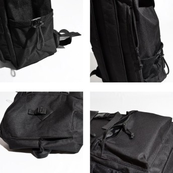 リュック・バックパック - Style Block MEN バックパック リュックサック デイパック ナイロン フラップ 迷彩 カモフラ柄 鞄 小物 メンズ ブラック ネイビー カモ 夏先行