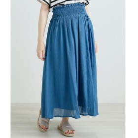 [マルイ]【セール】楊柳ウエストゴムシャーリングスカート/レイカズン(RAY CASSIN)