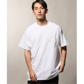 JOURNAL STANDARD relume SHIROKUMA×relume 別注 POCKET Tシャツ グリーン M