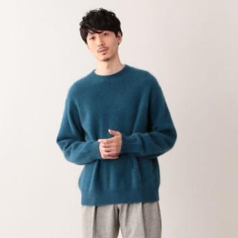 SALE【エムピー ストア(MP STORE)】 ★★ヘアリーヤーン プルオーバーニット ブルー