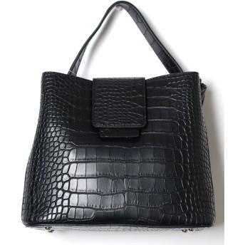 ショルダーバッグ - LOVERS 春新作 クロコダイル型押しバッグ バッグ 鞄 ショルダー ハンドバッグ クロコダイル 高見え きれいめ カジュアル 大容量 レディース韓国ファッション