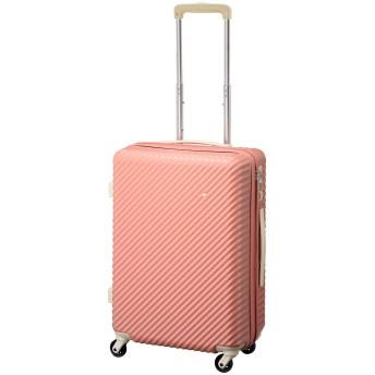 [HaNT(ハント)] スーツケース 47L 55cm 3.5kg 05748 ガーベラピンク