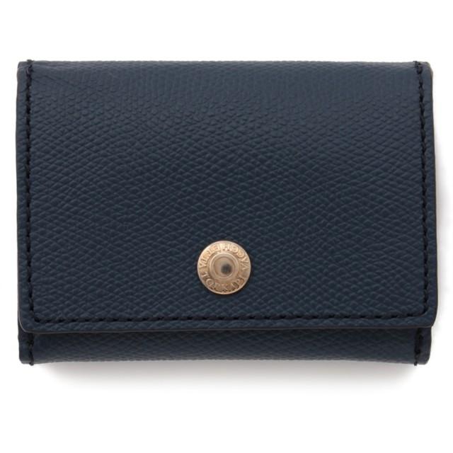 TOPKAPI 角シボ型押し・三つ折りミニ財布 財布,コン