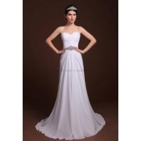 ウェディングドレス カスタムメイドローブデマリアージュスイートハートシフォンウェディングドレスブライダルドレス