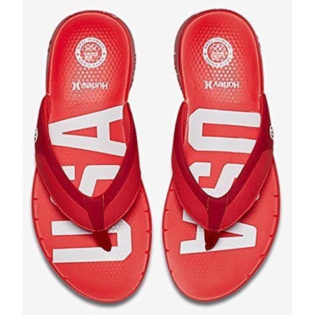 [ハーレー] メンズ Mens Phantom Free (USA) Sandals カラー: レッド