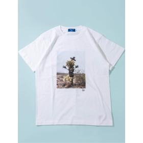 [リュウ アンベ] RYU AMBE 別注 グラフィック 半袖 Tシャツ メンズ 122130168 ホワイト 白 L
