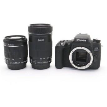 《美品》Canon EOS 8000D ダブルズームキット