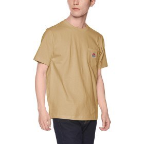 [ウィゴー] WEGO BEN DAVIS ベンデイビス ポケット T シャツ XL ベージュ