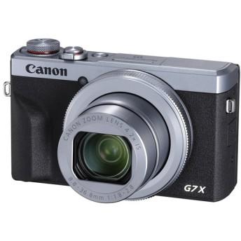 Canon PowerShot G7 X Mark III [シルバー]【お取り寄せ(10日〜2週間半程度)での入荷、発送】(2100000013409)