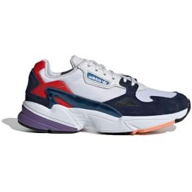(アディダス)adidas オリジナルス ファルコンスニーカー女性メンズカジュアルシューズ男女共用学生靴ランニングシューズ (23.5cm, WHITE) [並行輸入品]