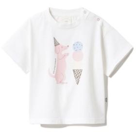[マルイ] 【BABY】アイスクリームアニマルワンポイント baby Tシャツ/ジェラートピケキッズ&ベイビー(gelato pique KidsBaby)