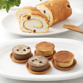 十勝トテッポ工房 和風ロールケーキ&大人のチーズケーキ