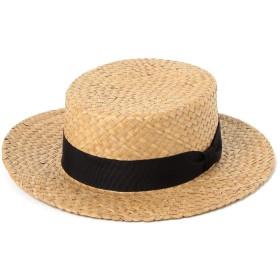 (ビームスボーイ)BEAMS BOY/帽子 Cableami ×BEAMS BOY/ボーダー ハット レディース NATURAL ONE SIZE