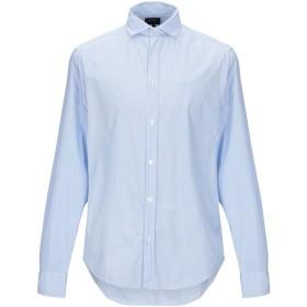 《期間限定 セール開催中》ARMANI JEANS メンズ シャツ スカイブルー S コットン 100%