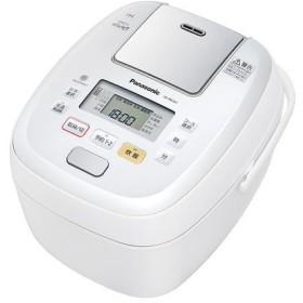 パナソニック IHジャー炊飯器 SR-PB107-W 5.5合炊き 可変圧力おどり炊き
